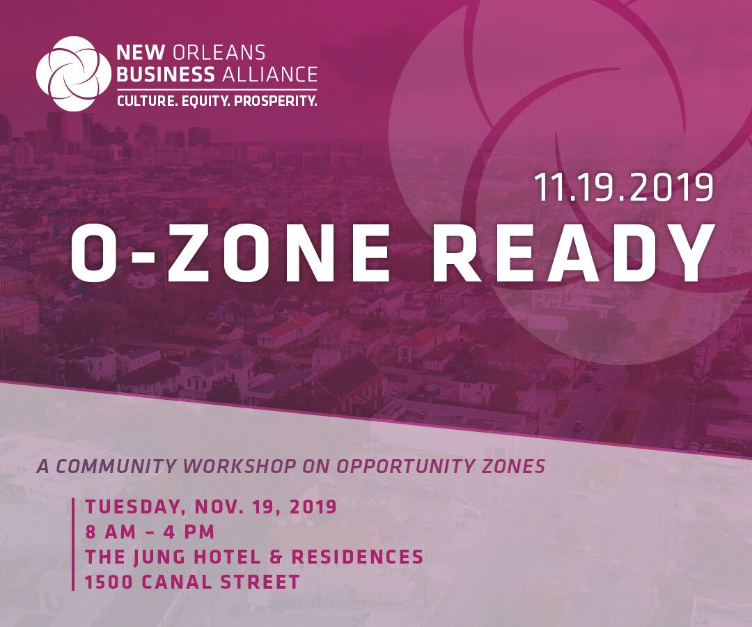 Opportunity Zone Workshop New Orleans