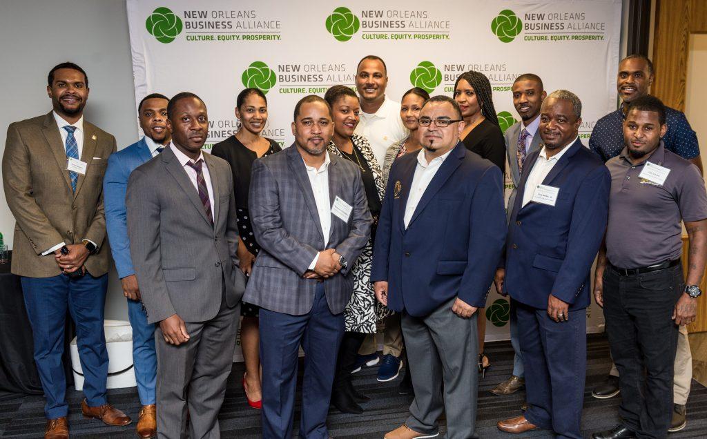 Inaugural class of InvestNOLA participants
