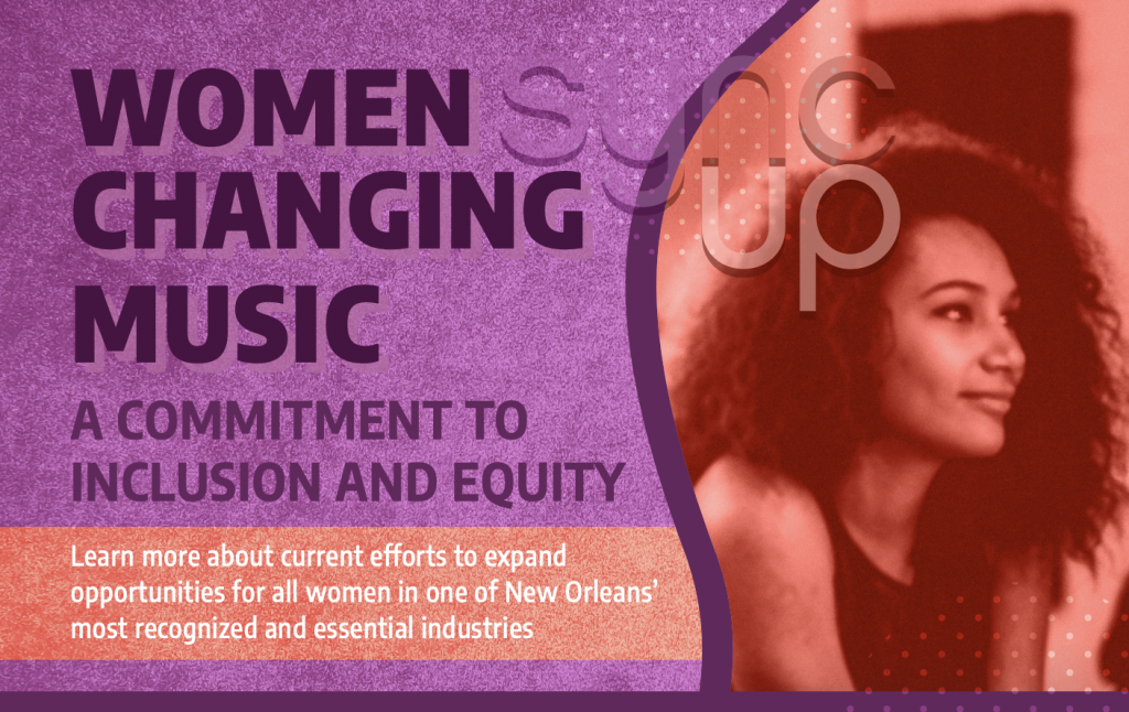 Women Changing Music Logo