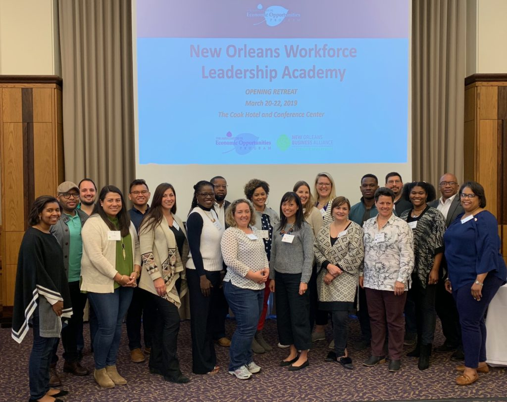 Aspen Workforce Leadership Academy New Orlean New Orleans Business Alliance Partcipants 2019