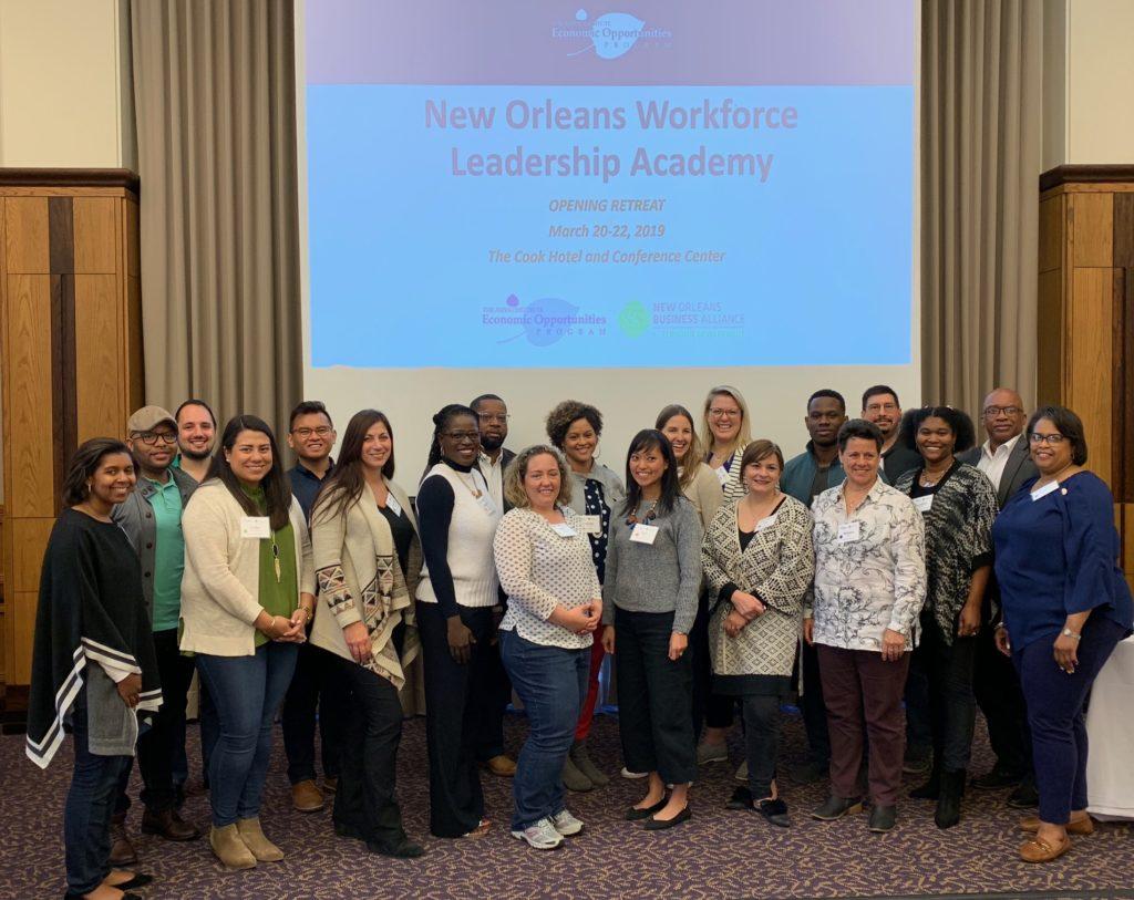Aspen Workforce Leadership Academy New Orlean New Orleans Business Alliance Partcipants 2019